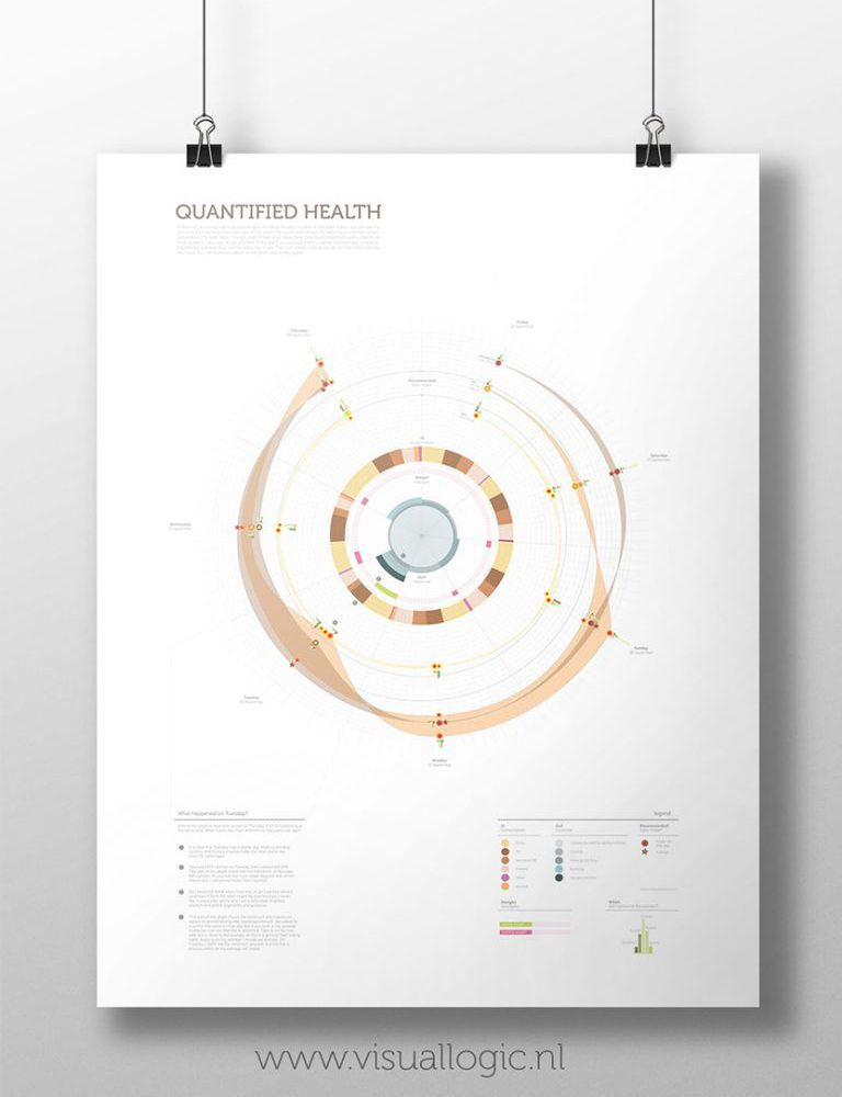 Data Visualisatie Quantified Health